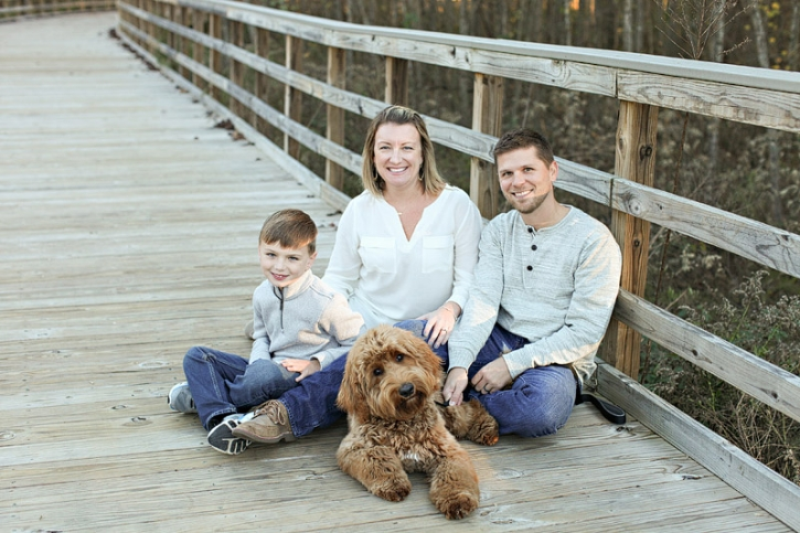 Alpharetta Family Christmas Portrait01